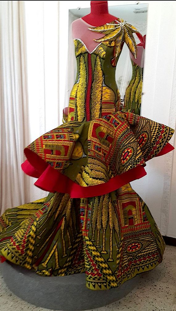 Reda Fawas, Ivory Coast for Vlisco.