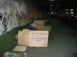 Image result for cardboard homeless