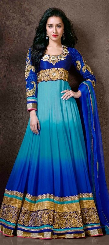 Actress Shraddha Kapoor in beautiful Anarkali