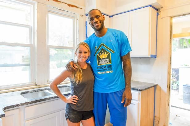 See how Nicole Curtis worked with the LeBron James Family Foundation Promise Project on a full-house renovation for a deserving Akron family.