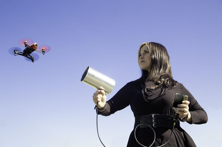 You can disable a drone in the air with a Wi-Fi antenna made from a can and a little clever coding. After all, a drone is basically a flying computer.