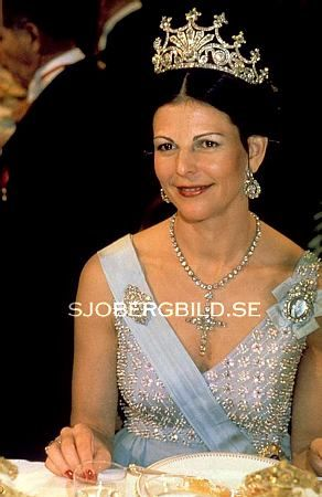 Queen Silvia Wore This Tiara For The 1979 Nobel Prize Ceremony And Dinner