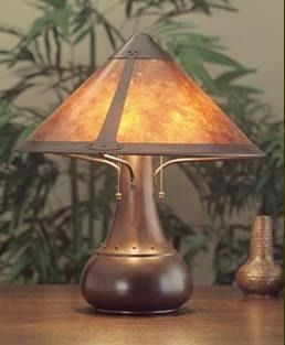Good The Mica Lamp Company Large Onion Lamp The Mica Lamp Company Table Lamps,  Mica Lamp Company, Mission Lighting