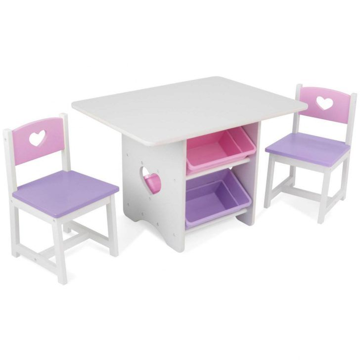 interior design:Table Avec Chaise Table Avec Bacs Rangement ...