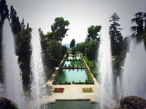 Villa d'Este #gardens #tivoli