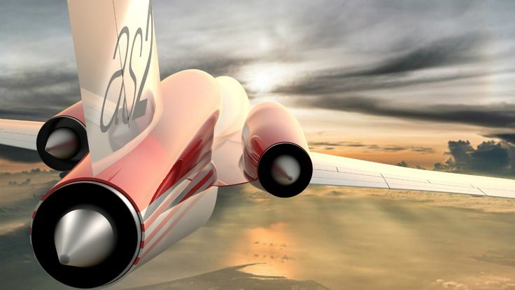 Le futur jet supersonique américain décroche son premier contrat