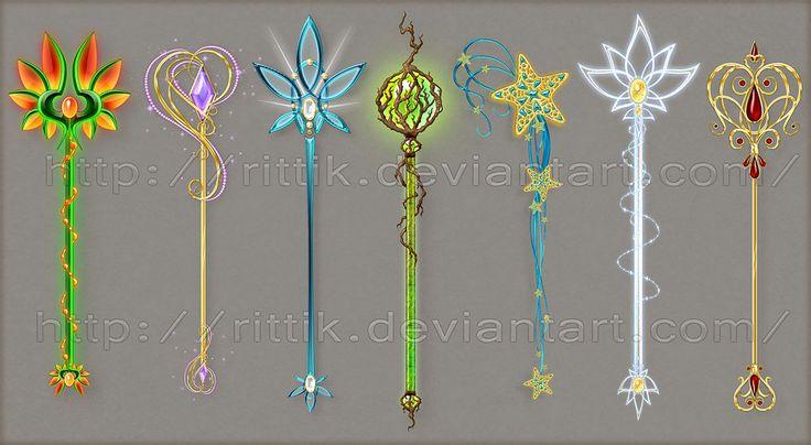 Staff designs 13 by Rittik-Designs on deviantART