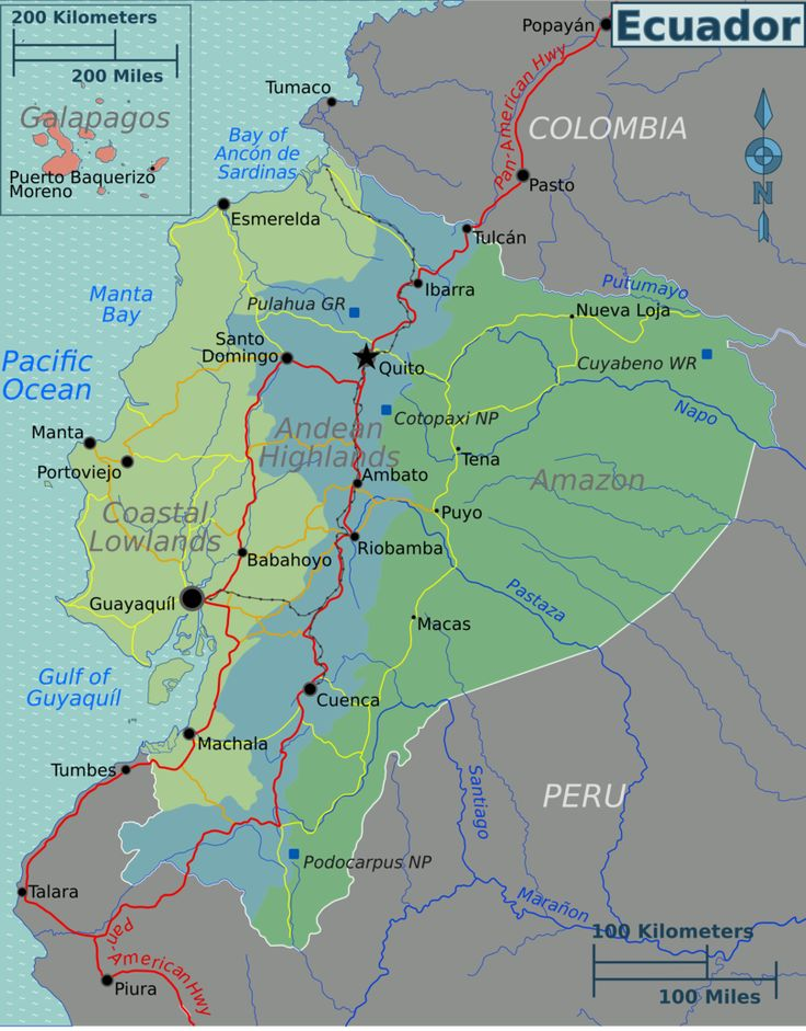 The Best Ecuador Map Ideas On Pinterest Map Of Colombia - Ecuador map south america