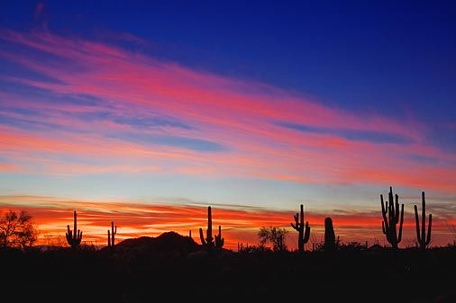 I love the Arizona sunsets and sunrises! So gorgeous; not your typical vacation but still amazing to see.