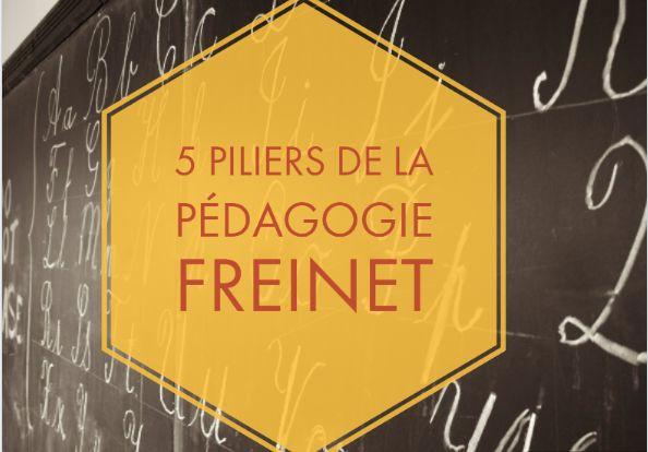 5 piliers de la pédagogie Freinet