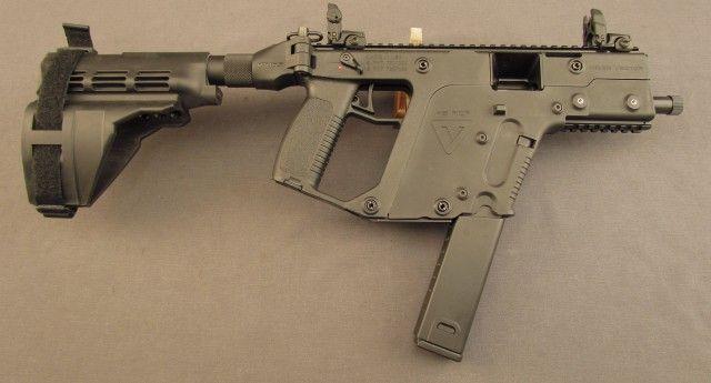 Kriss Vector SDP Pistol with Sig Sauer Pistol Brace