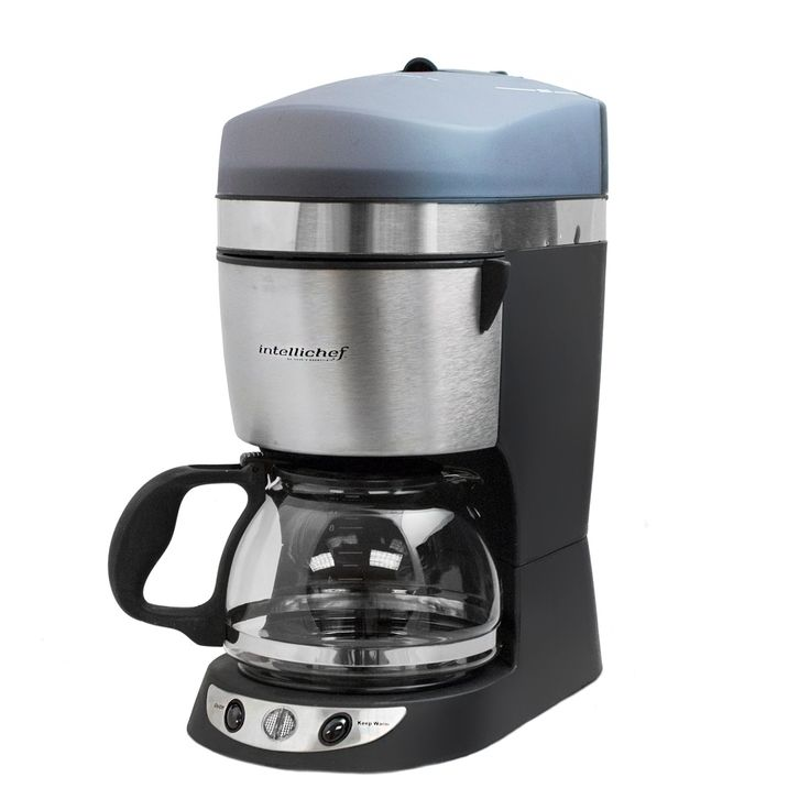 10 Cup High Speed Intellichef Coffee Maker by Cook Essentials, Grey (Plastic)