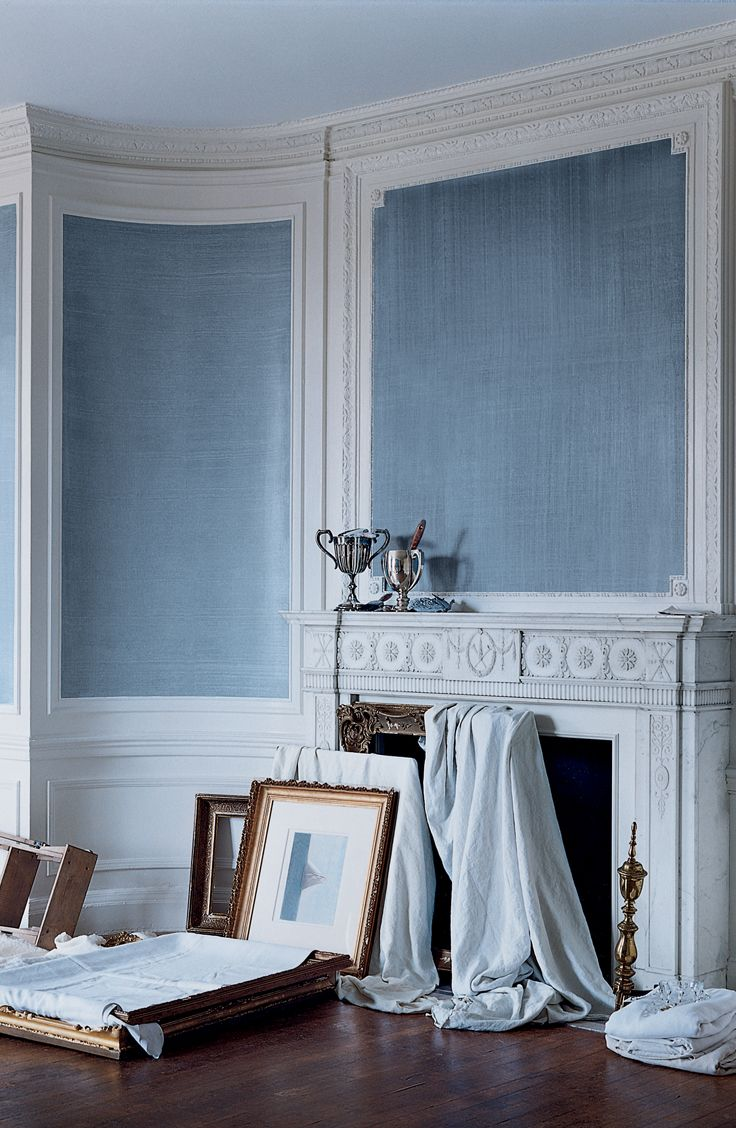 The Indigo Denim Faux Technique brings an unexpected twist to traditional architecture