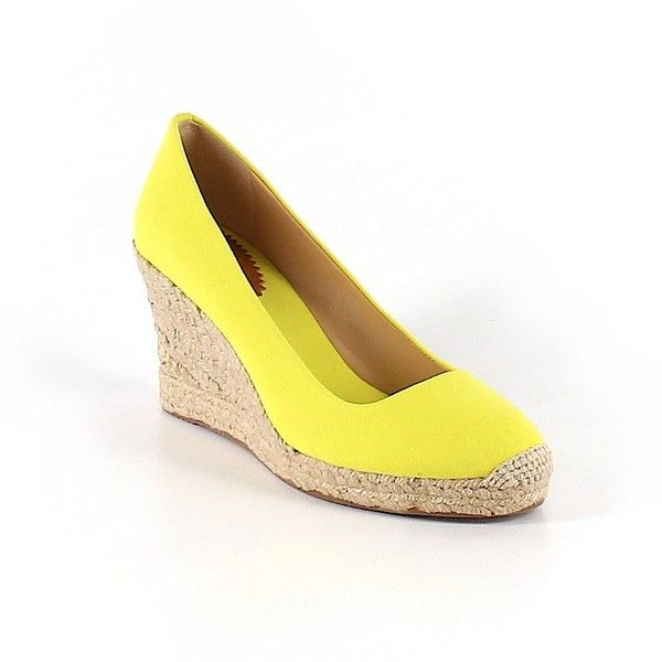 1000  ideas about Yellow Wedges on Pinterest  White wedge heels