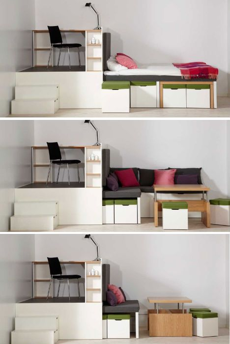 Prototype to Reality: Super Space-Saving Bedroom Set