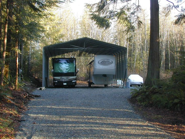 Double RV Steel Carport by Absolute Steel Rv carports