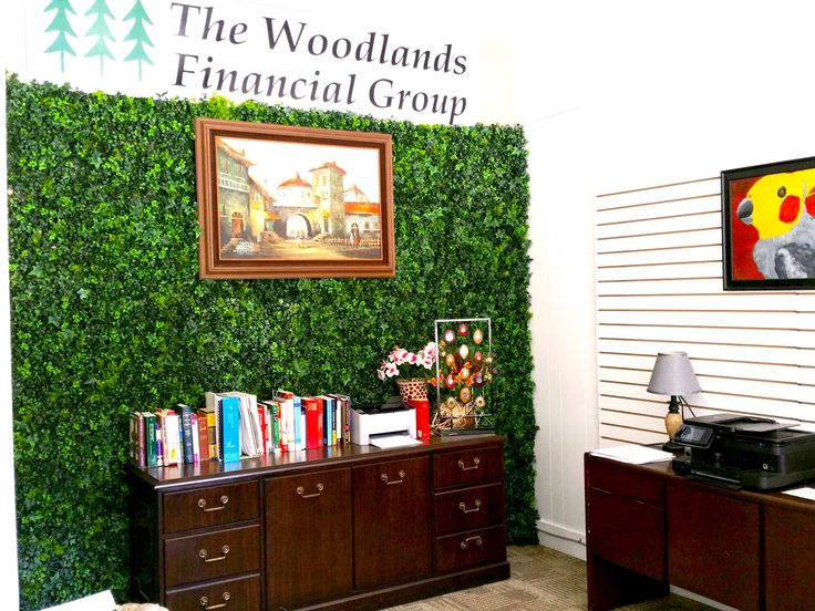 An Amazing Decoration For Interiors Decor You Office With Artificial Leaf Panels