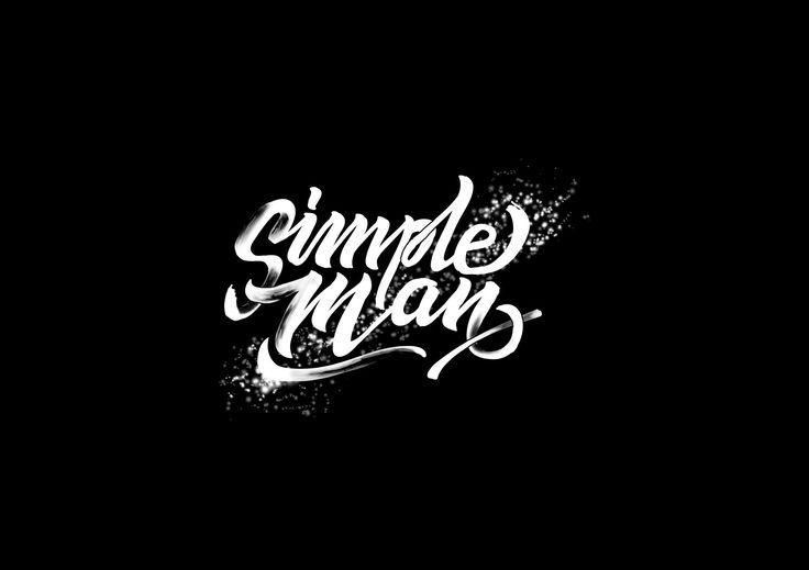 Lynyrd Skynyrd - Simple Man Typography