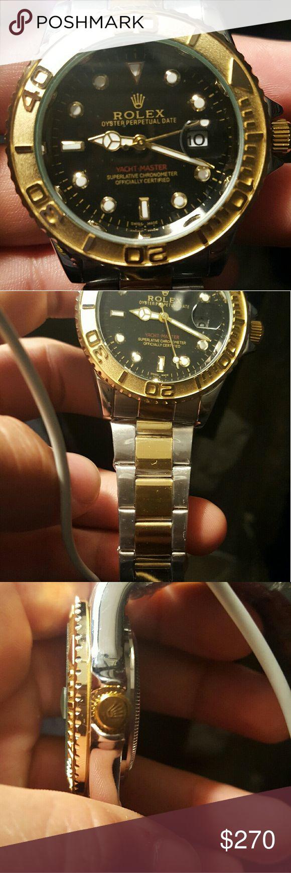Rolex 1992 Yachtmaster homage Works, no scratches, brand new Rolex Accessories Watches