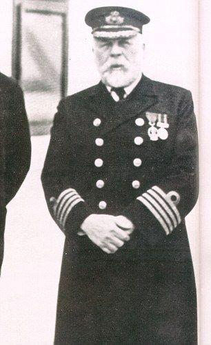 Titanic's Captain Edward John Smith was born in 1850 in Stoke-on-Trent.