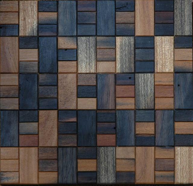 TST Mosaico Per La Parete di Legno di Transizione Stile Squared Legno Deco Della…