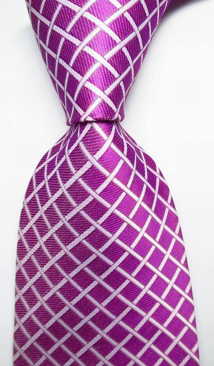 Cravate Garçons Moyen - Soie Jacquard Tissé Dans L'encoche Rose Corail Solide CX0iMCaJe