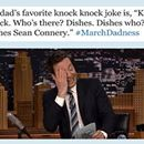 Jimmy Fallon Challenges Fans To Find 'Punniest' Dads & The Results Are Hilarious. - The NCAA basketball championship tournament is absolutely taking over social media. Everyone is tweeting about #MarchMadness, but Jimmy Fallon recently … #life #happy #inspiration #today