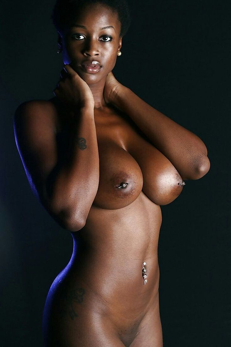 Black girl naked boobs without face