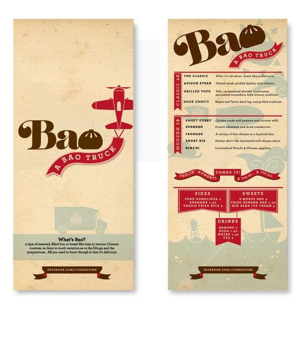Bao Food Truck Branding
