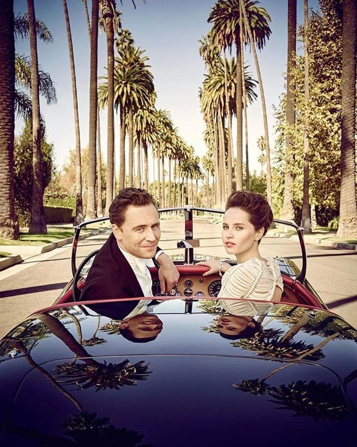 Tom Hiddleston and Felicity Jones photographed by Jason Bell for The 2015 Hollywood Portfolio of Vanity Fair. Source: Jason Bell: https://www.instagram.com/p/BYGamTaFP9v/
