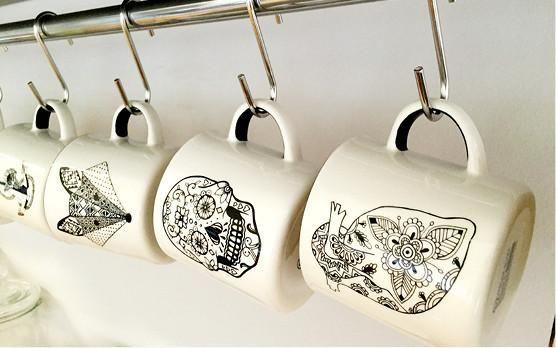 DIY: Hanging Coffee Mugs