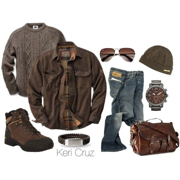 """Men's Winter Fashion"" by keri-cruz on Polyvore"