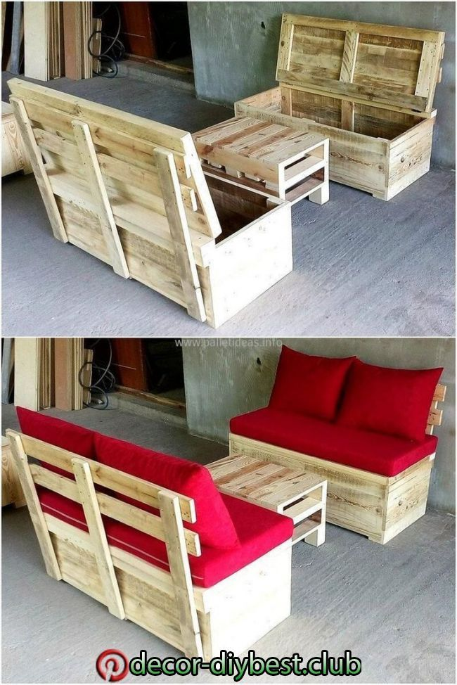 Redesigned Wooden Pallet Furniture Idea Www Youtube Com