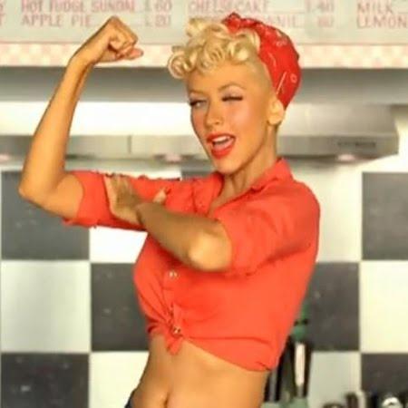 he's a one stop shop, ... Christina Aguilera Candyman
