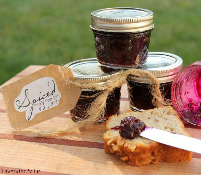 Spiced Prickly Pear Jam Recipe