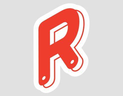 Дизайн футболки, графические элементы и паттерн для компании-издателя онлайн игр RAKETA