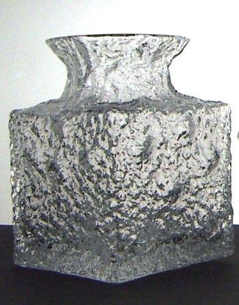 Timo Sarpaneva vintage Crucus Iittala art glass vase