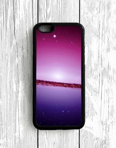 Purple Space iPhone 5C Case