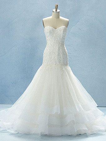 2012 Disney Fairy Tale Weddings Line from Alfred Angelo - Cinderella