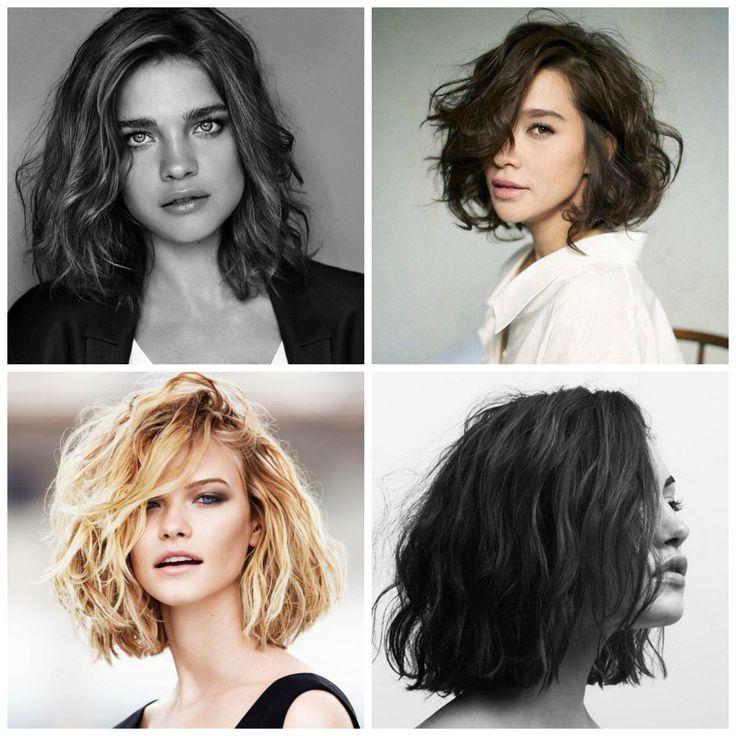 Quel type de carré selon le type de cheveux et visages