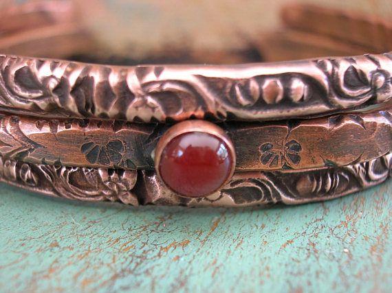 Boho stacking bracelets set of 3  Ancient Alchemy  boho