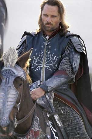 Viggo Mortensen as Aragorn in Return of the King