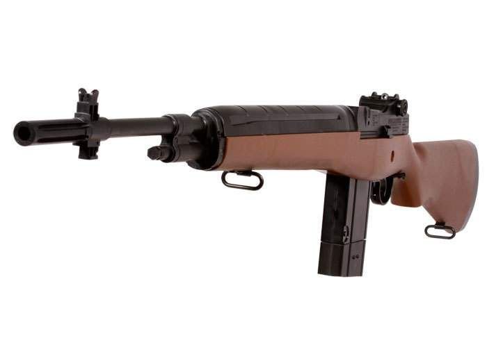 Semiauto Winchester M14 air rifle powered by CO2!