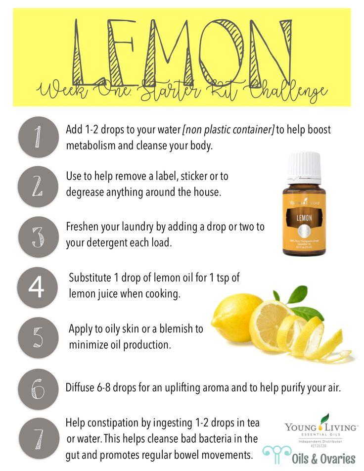 lemon essential oil  oilsandovaries.com