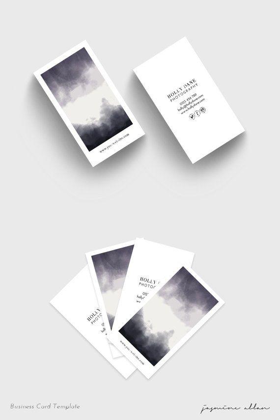 Business Card Business Card Template Minimalist Brand