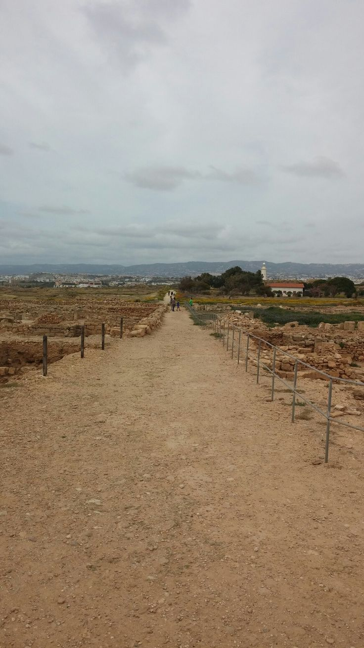Archaeological park in Paphos