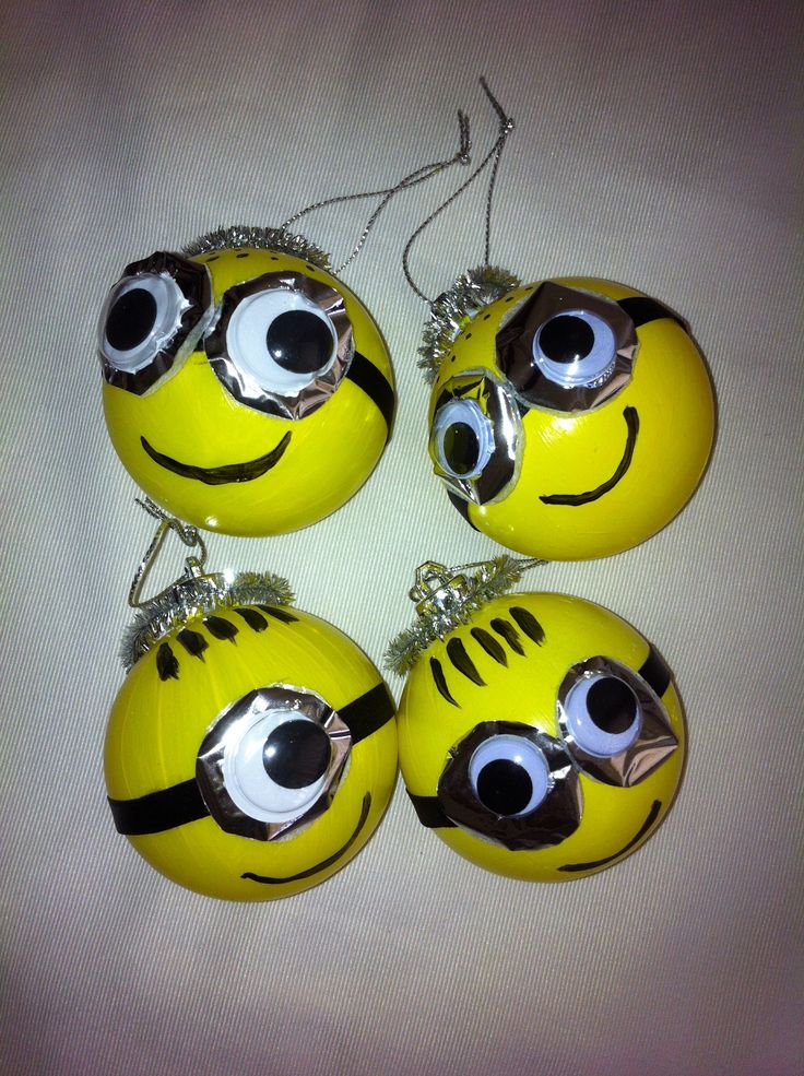 Minion baubles