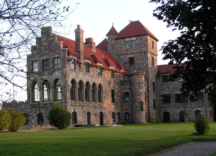 Singer Castle, in the Thousand Islands on the Saint Lawrence River, along the northern border of New York State.