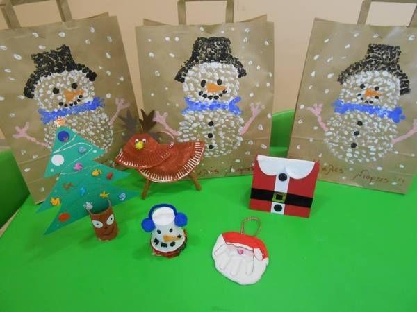 Χριστουγεννιάτικη κατασκευή από τα παιδιά του ΚΟΥΚΛΟΤΟΠΟΥ