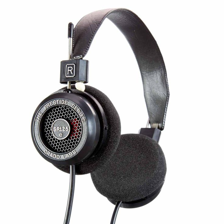 SR-125e Headphones from Grado Labs. A damn fine set of cans, if you catch my meaning.